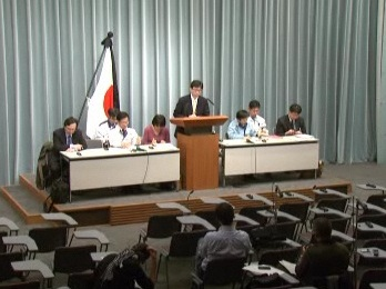 Press Briefing(The Situation after the Great East Japan Earthquake)(April 3rd, 2011, at 19:30)