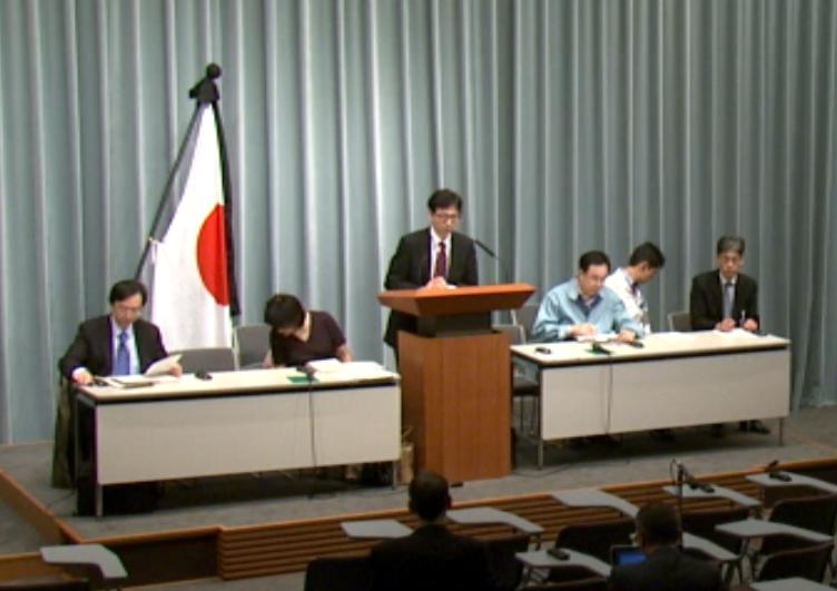 Press Briefing(The Situation after the Great East Japan Earthquake)(April 6th, 2011, at 19:00)