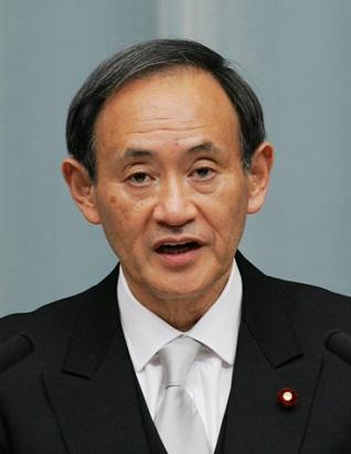 内閣官房長官 菅 義偉 (すが よしひで)   第4次安倍第2次改造内閣 ...