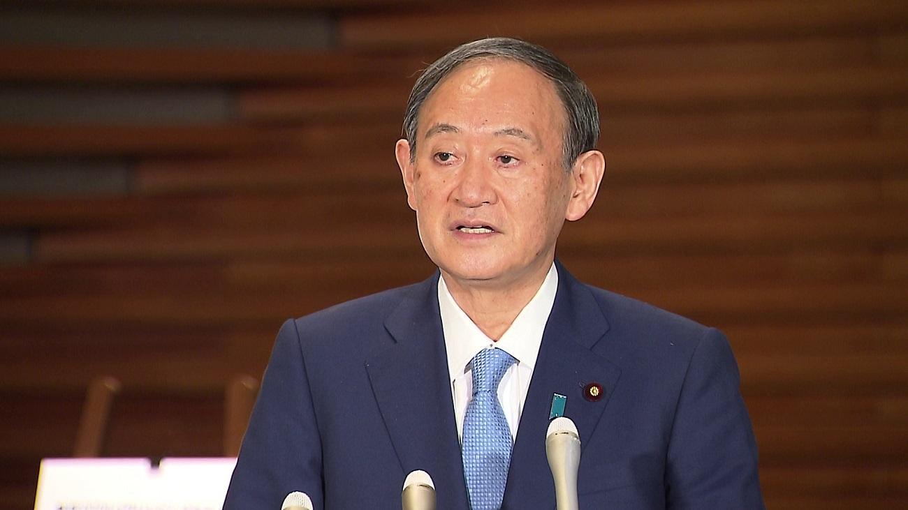 菅総理はまん延防止等重点措置の適用の要請等について会見しました