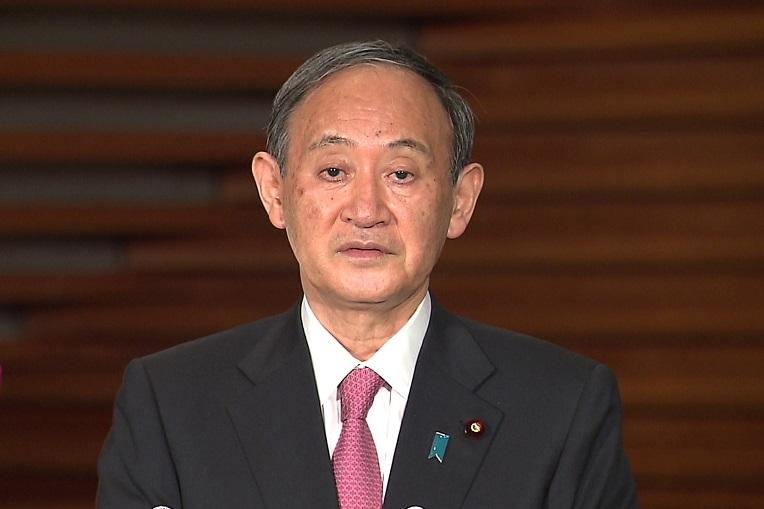 菅総理は沖縄県への緊急事態宣言の適用等について会見を行いました