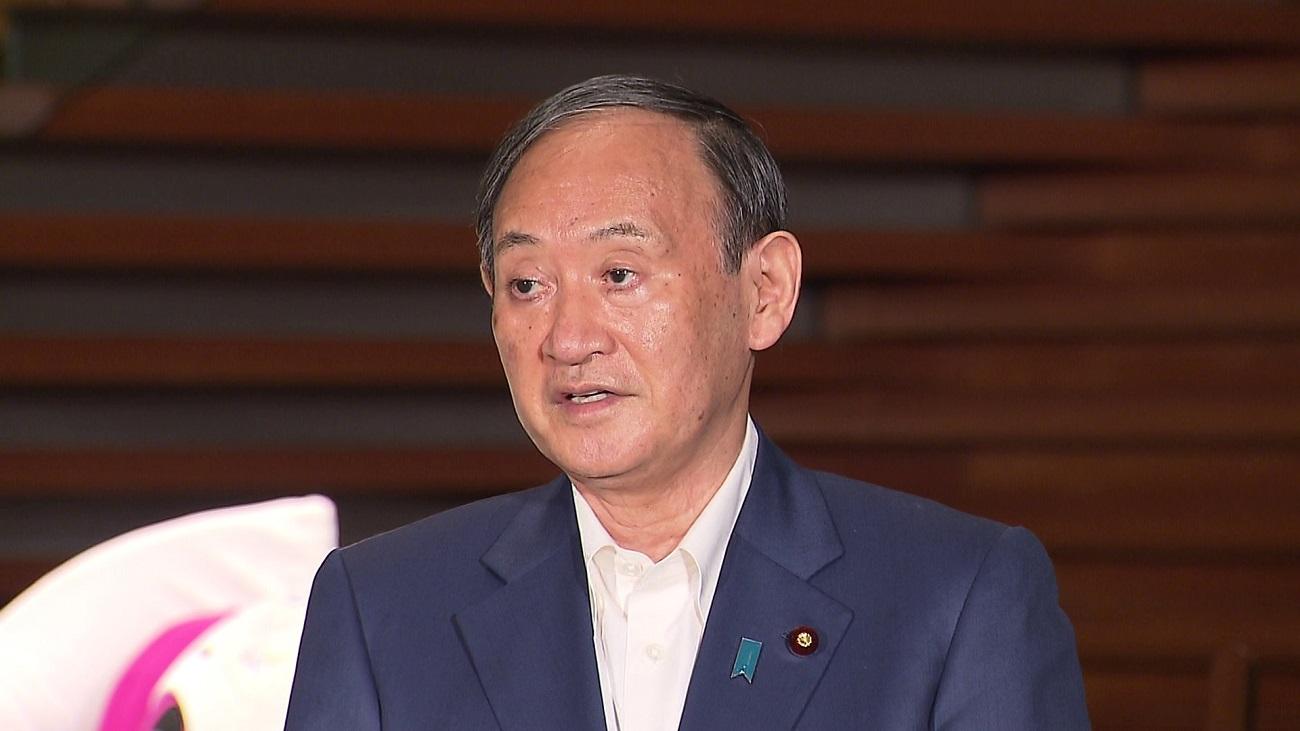 菅総理は自由民主党総裁選挙について会見しました