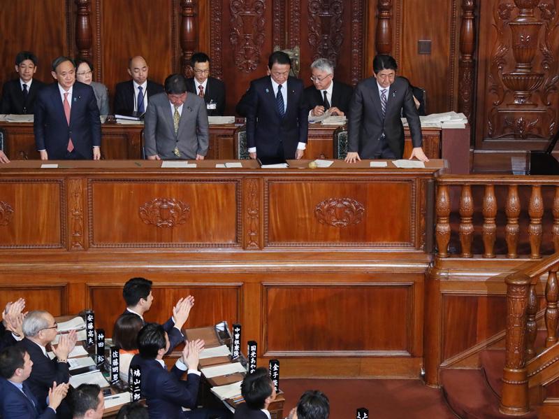 衆議院予算委員会・財務金融委員会・本会議