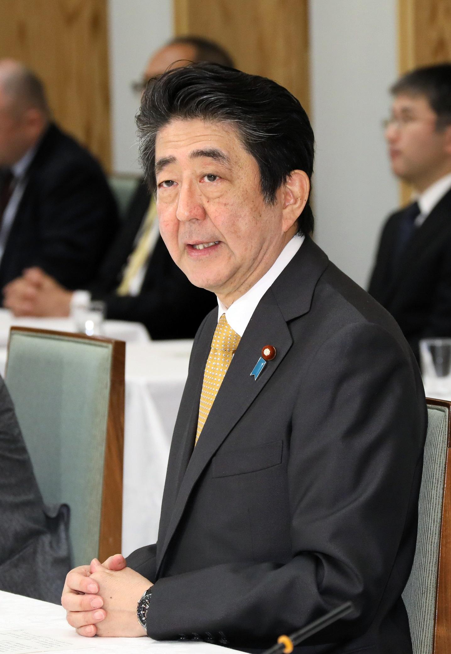平成31年1月15日 政府与党連絡会...