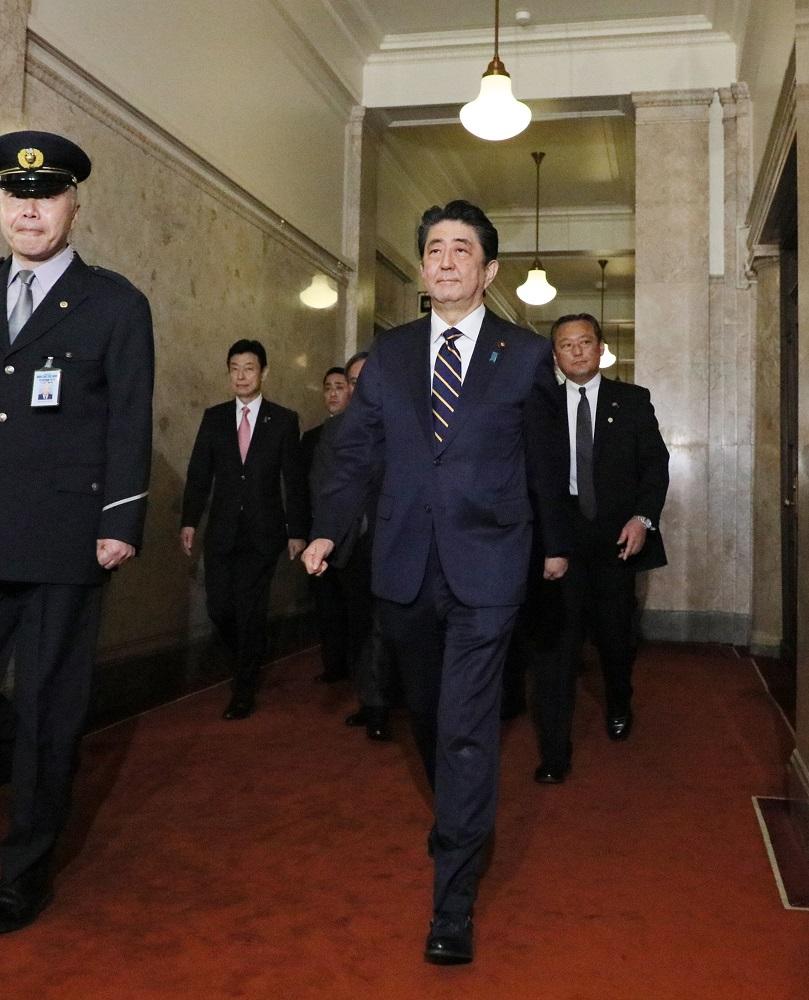 第198回国会における安倍内閣総理大臣施政方針演説