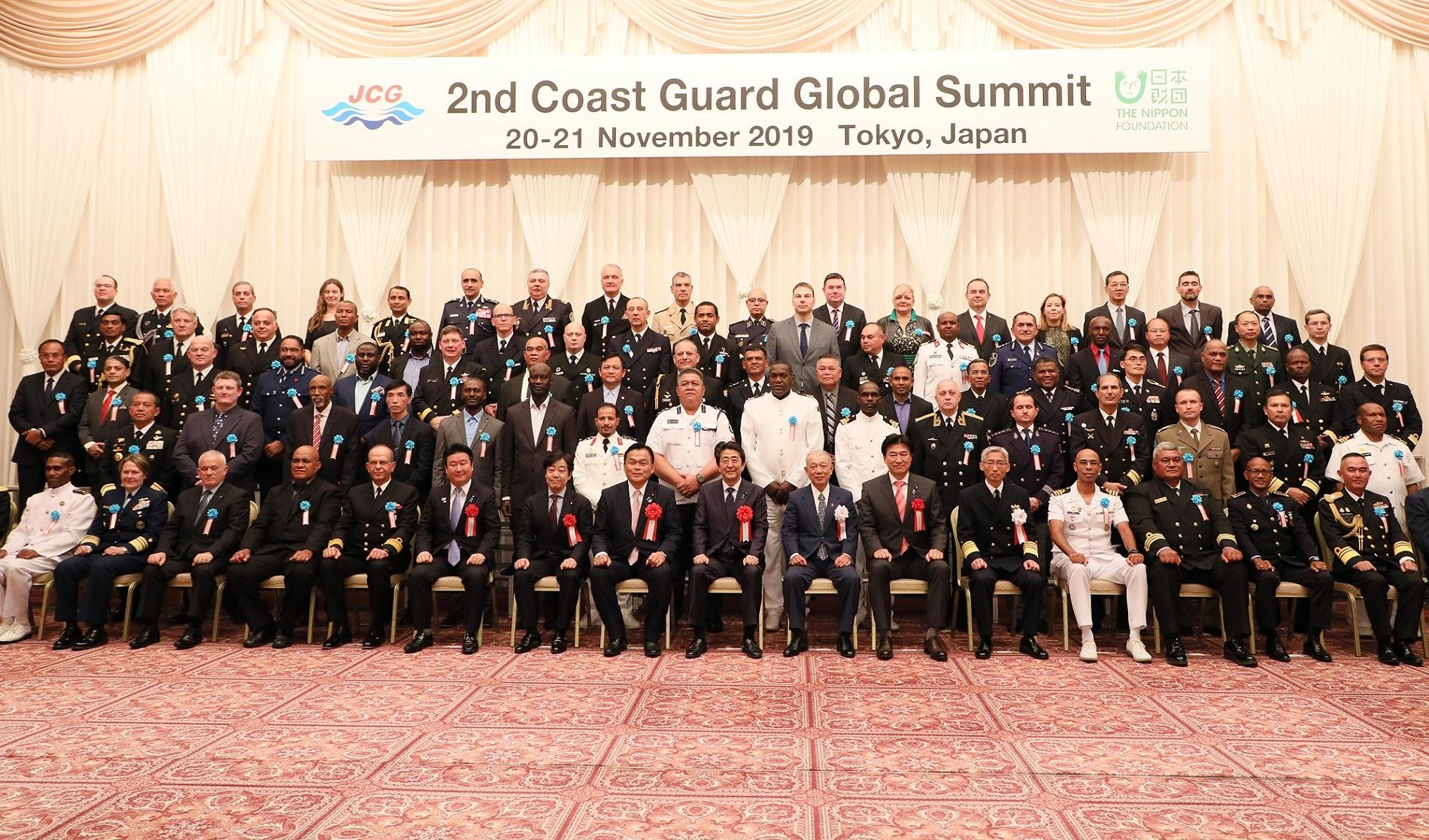 世界海上保安機関長官級会合に係るフェアウェルレセプション