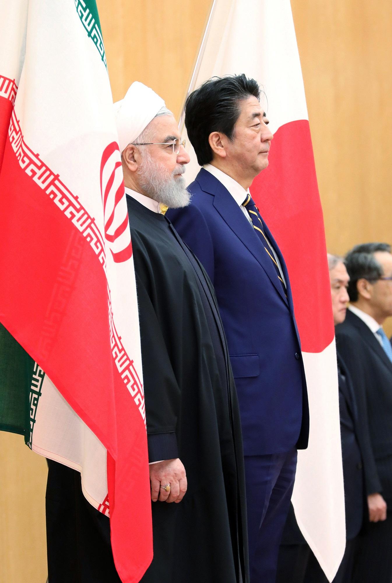 訪日 イラン 大統領