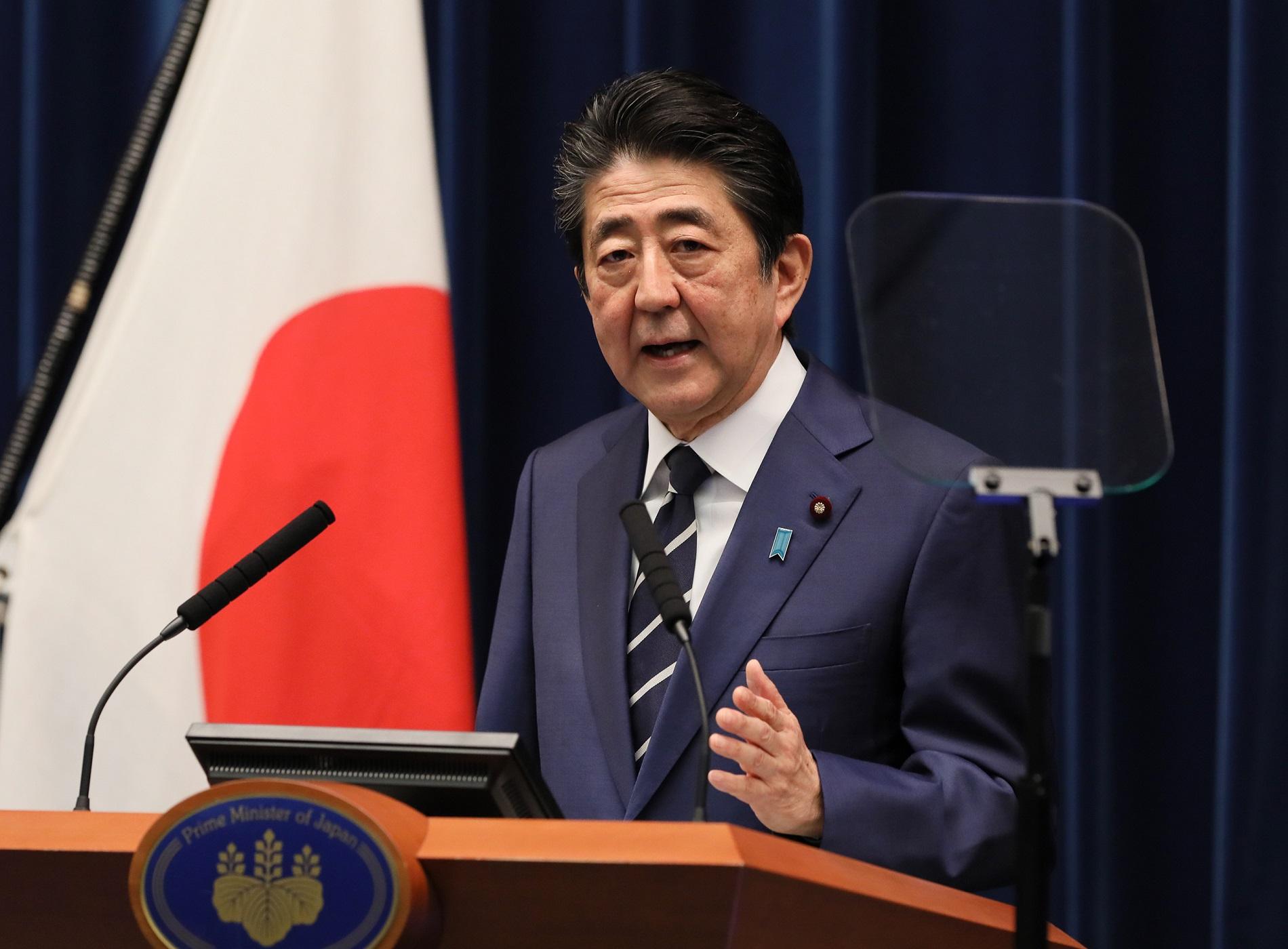 安倍内閣総理大臣記者会見