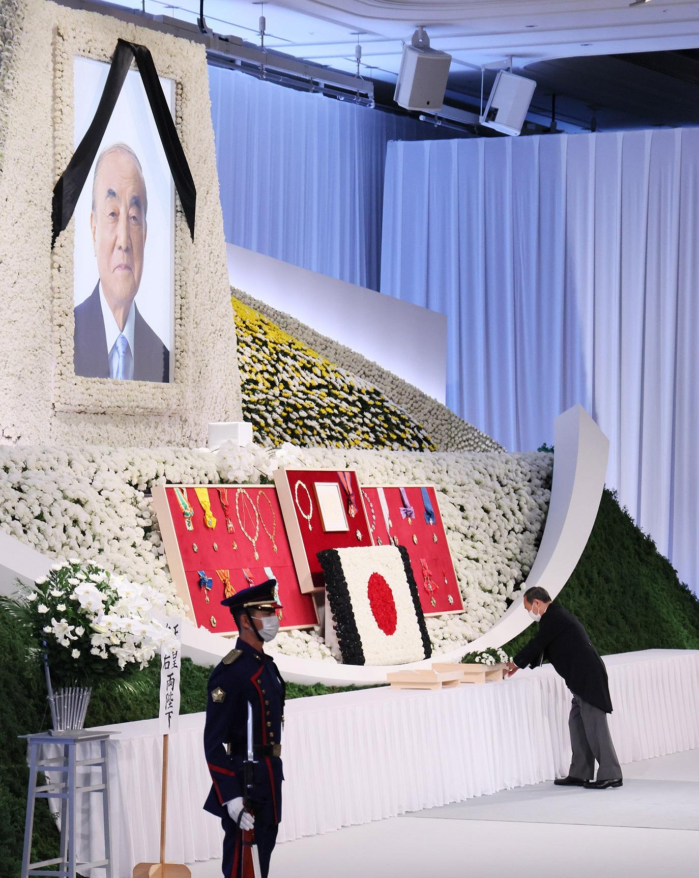中曽根 国葬