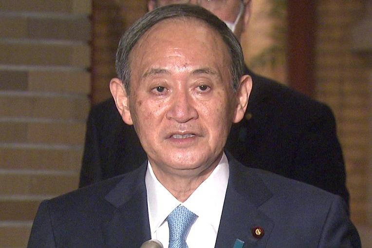 菅総理はアメリカ合衆国のジョセフ・バイデン大統領との電話会談について会見を行いました