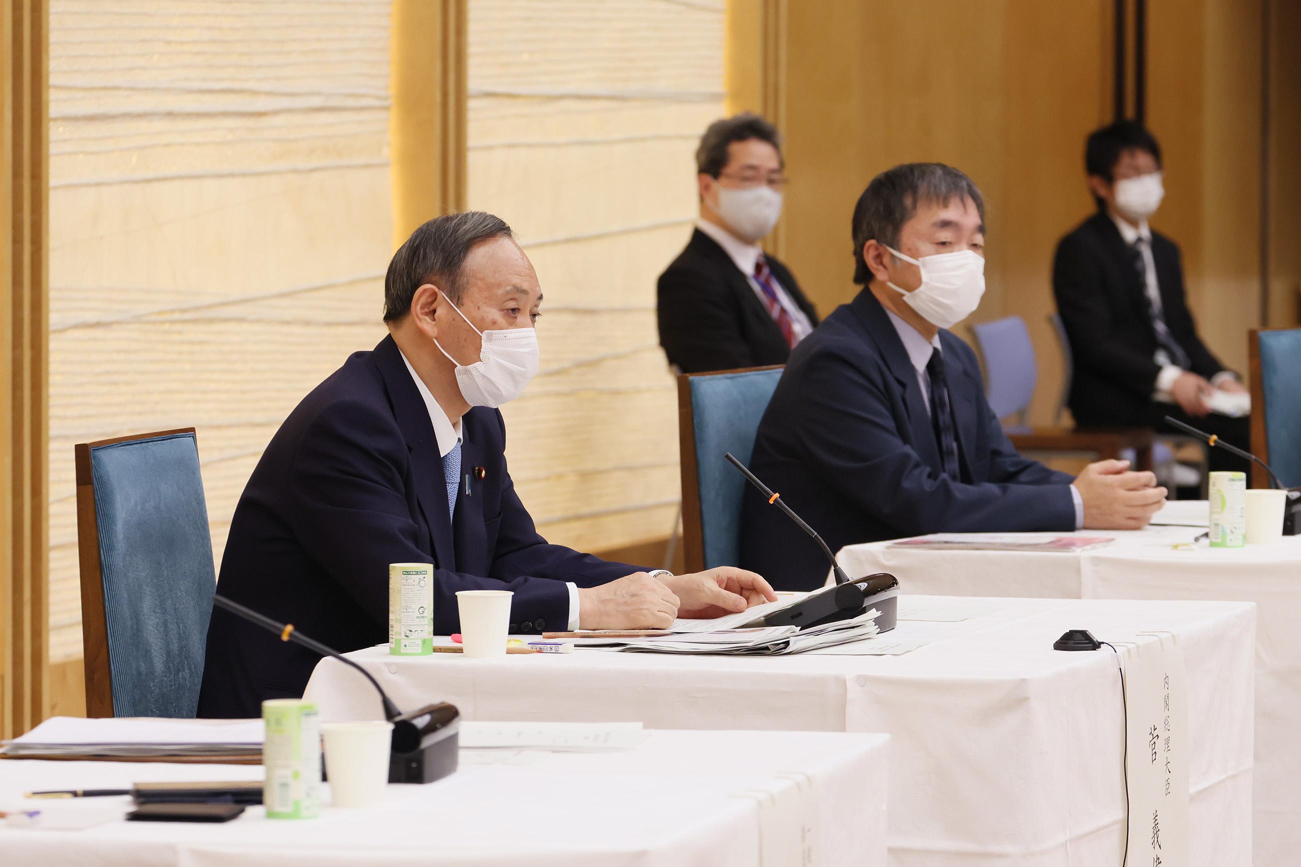 菅総理は孤独・孤立を防ぎ、不安に寄り添い、つながるための緊急フォーラムに出席しました