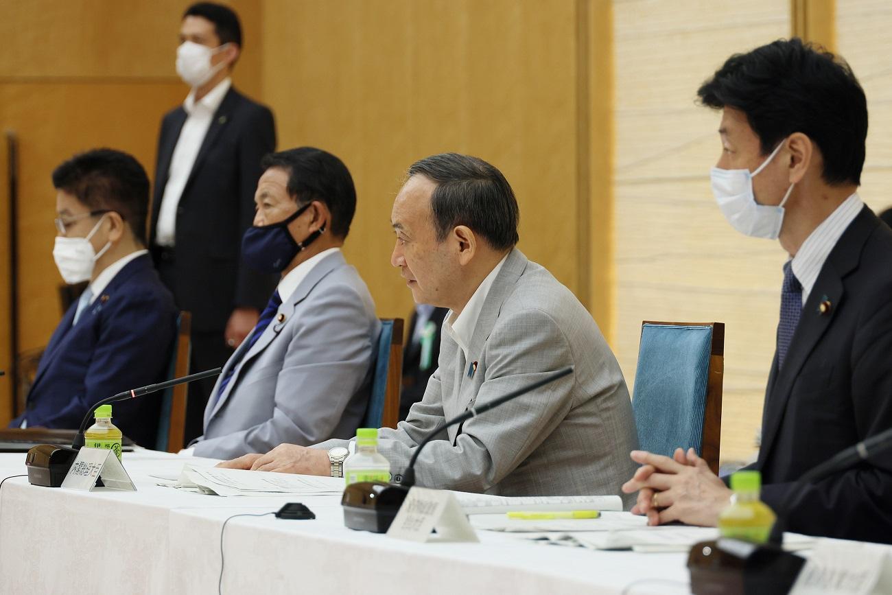 菅総理は令和3年第11回経済財政諮問会議を開催しました
