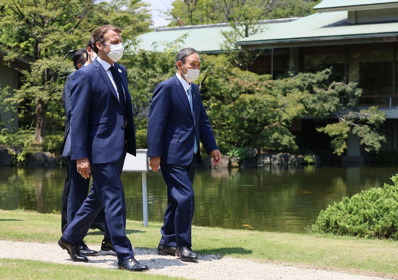 菅総理は東京オリンピック競技大会開会式に際して訪日中の各国要人との会談等を行いました