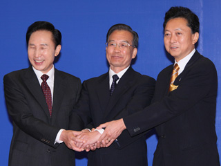 総理の動き-韓国訪問及び日中韓サミット出席-平成21年10月9日・10日