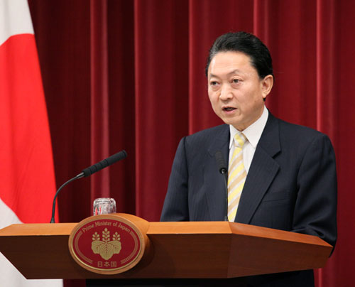 鳩山内閣総理大臣記者会見-平成21年12月25日