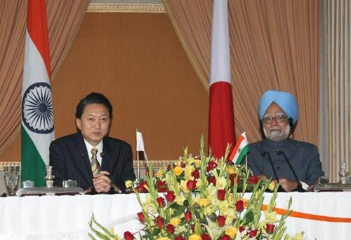 総理の動き-日印首脳会談共同記者会見-平成21年12月29日