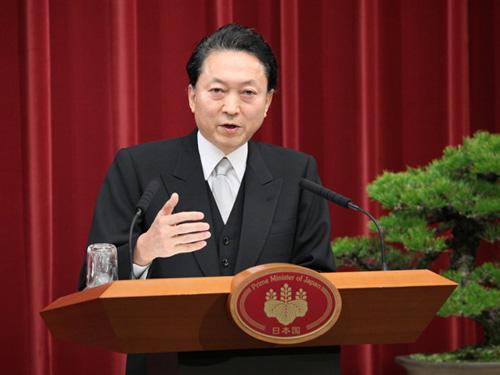 鳩山内閣総理大臣年頭記者会見-平成22年1月4日
