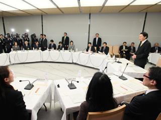 第1回「新しい公共」円卓会議-平成22年1月27日