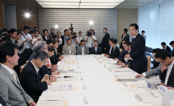 新型インフルエンザ対策本部-平成22年8月27日