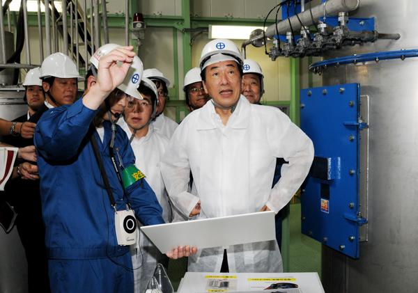 総理の動き-福岡県下訪問-平成22年8月28日