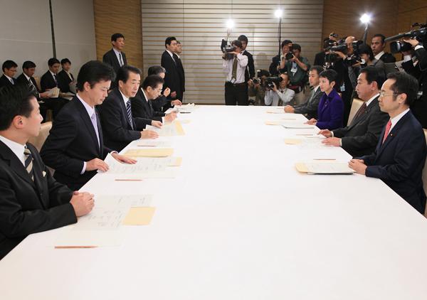 予算編成に関する閣僚委員会-平成22年11月1日