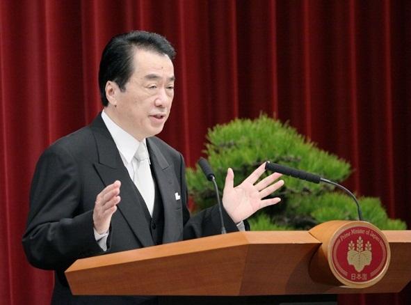 菅内閣総理大臣年頭記者会見-平成23年1月4日