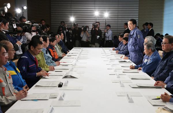 第10回東北地方太平洋沖地震緊急災害対策本部及び第8回原子力災害対策本部会議-平成23年3月15日