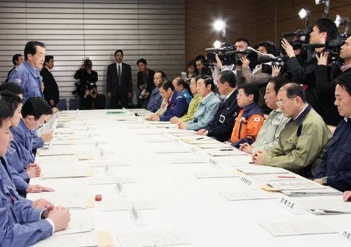第12回東北地方太平洋沖地震緊急災害対策本部及び第10回原子力災害対策本部会議-平成23年3月17日