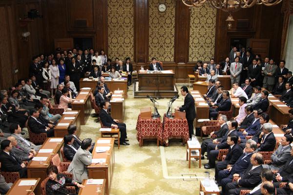 国家基本政策委員会合同審査会(党首討論)-平成23年6月1日