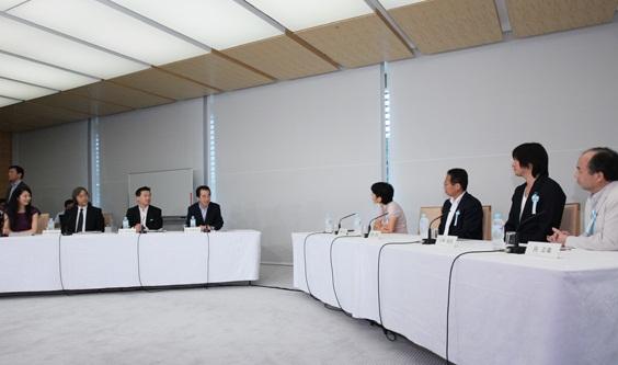 自然エネルギーに関する「総理・有識者オープン懇談会」(全編)-平成23年6月12日
