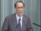 福田内閣閣僚記者会見「渡海紀三朗大臣」
