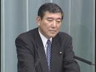 福田内閣閣僚記者会見「石破茂大臣」