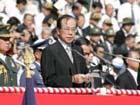 総理の動き-自衛隊観閲式に出席-平成19年10月28日