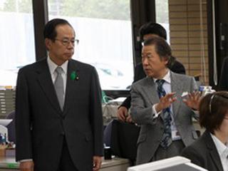 総理の動き-ジョブカフェちば・千葉県消費者センター視察