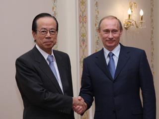 総理の動き-ロシア訪問