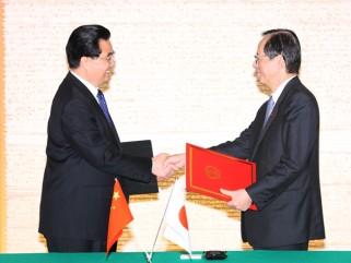 総理の動き-日中首脳会談