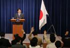 内閣総理大臣記者会見-平成19年9月12日