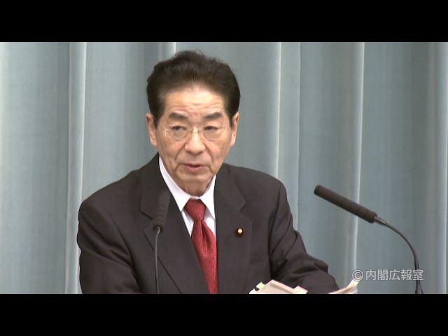 平成22年11月1日(月)午後2-内閣官房長官記者会見-