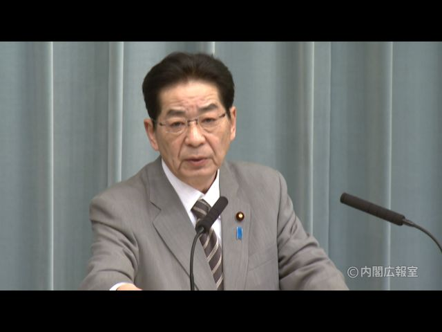 平成22年12月27日(月)午前-内閣官房長官記者会見-