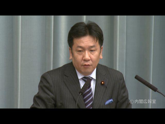 平成23年1月27日(木)午後-内閣官房長官記者会見
