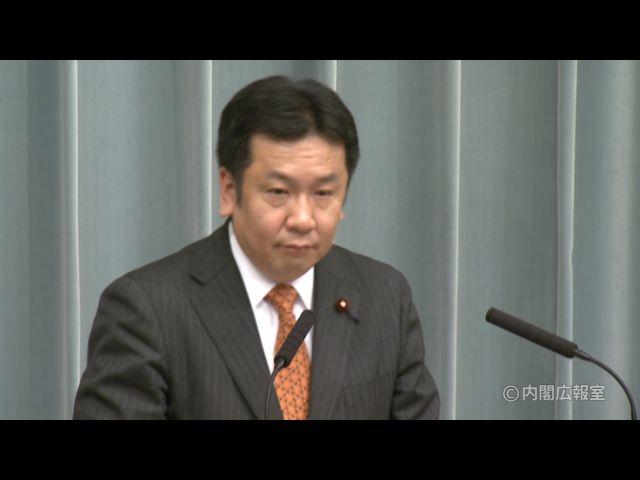 平成23年2月7日(月)午前-内閣官房長官記者会見