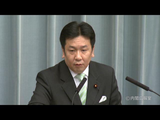 平成23年3月1日(火)午前-内閣官房長官記者会見