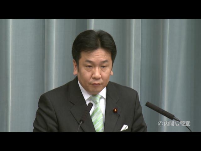 平成23年3月1日(火)午後-内閣官房長官記者会見