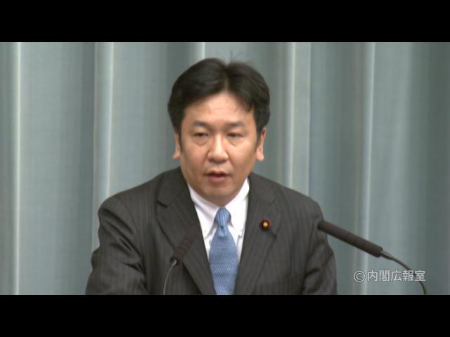 平成23年3月7日(月)午前-内閣官房長官記者会見
