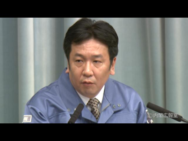 平成23年3月11日(金)午後2-内閣官房長官記者会見