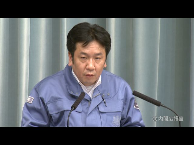 平成23年3月12日(土)午前2-内閣官房長官記者会見