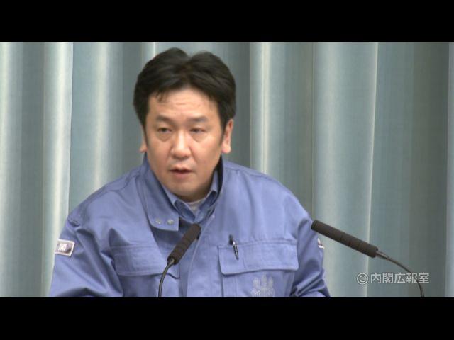 平成23年3月12日(土)午前3-内閣官房長官記者会見