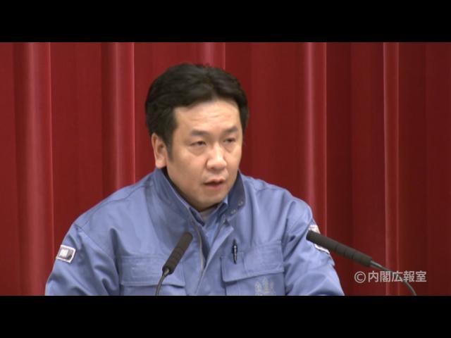 平成23年3月15日(火)午前3(11:07~)-内閣官房長官記者会見