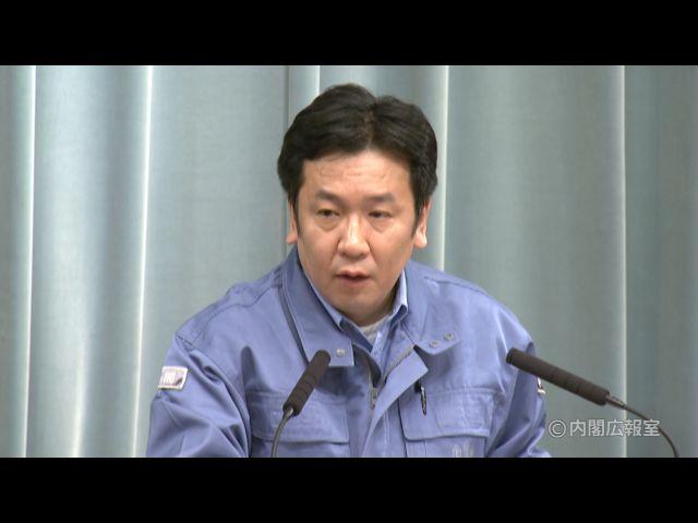 平成23年3月19日(土)午後(16:07~)-内閣官房長官記者会見