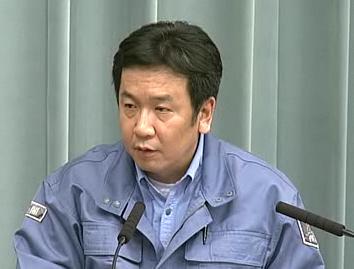 平成23年3月14日(月)午前2(11:00~)-内閣官房長官記者会見